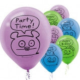 Ugly Doll Latex Balloons - nyea's Party Store