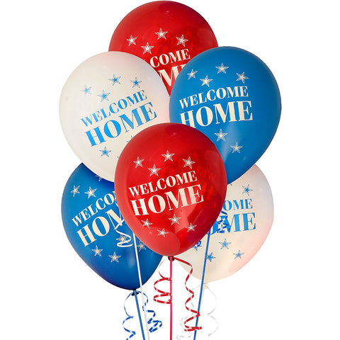 Welcome Home Latex Balloons - 6pk.