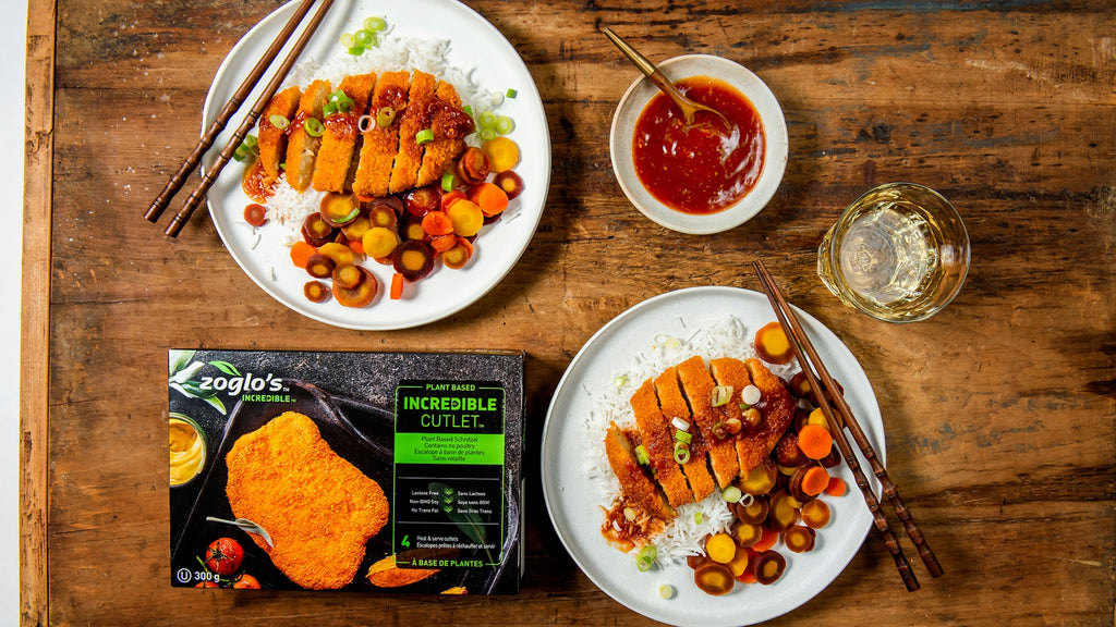 incredible Plant based cutlets