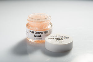 Lip Scrub - Pink Grapefruit and Guava - Zen Botanics