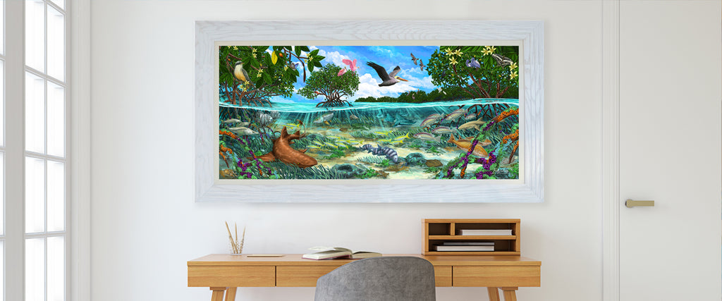 The artwork Inspired by Biscayne National Park