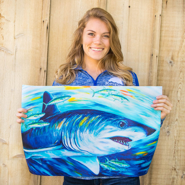 Shark Canvas Poster_ Supporting Conservation
