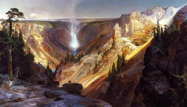 "Thomas Moran ""Grand Canyon of Yellowstone"""
