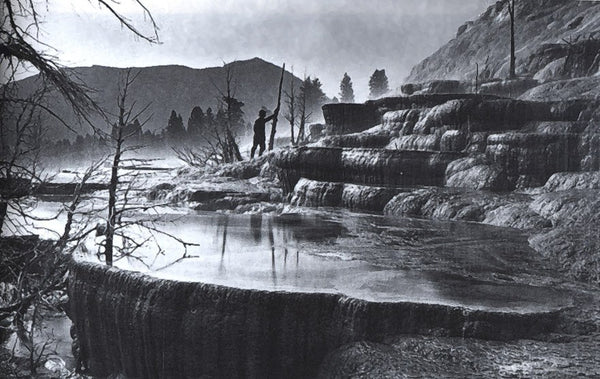 William Henry Jackson - Pulpit Terrace, Mammoth Hot Springs, Yellowstone 1872