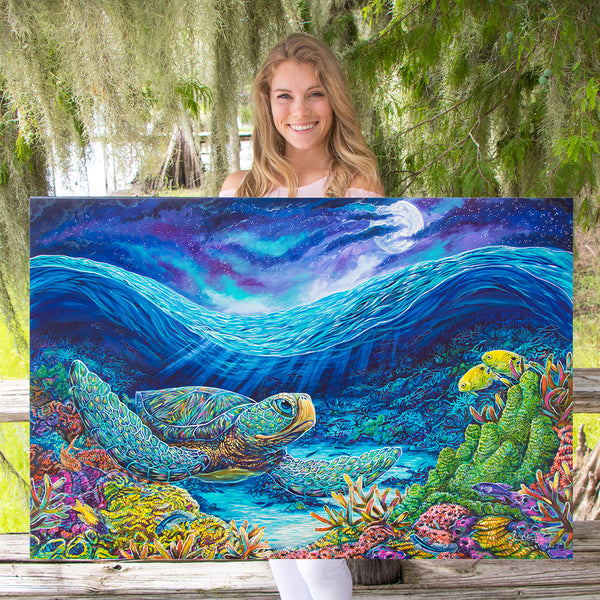 Pisces Seaturtle Artwork