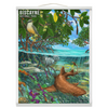 Biscayne Nurse Shark - Hanging Canvas Print