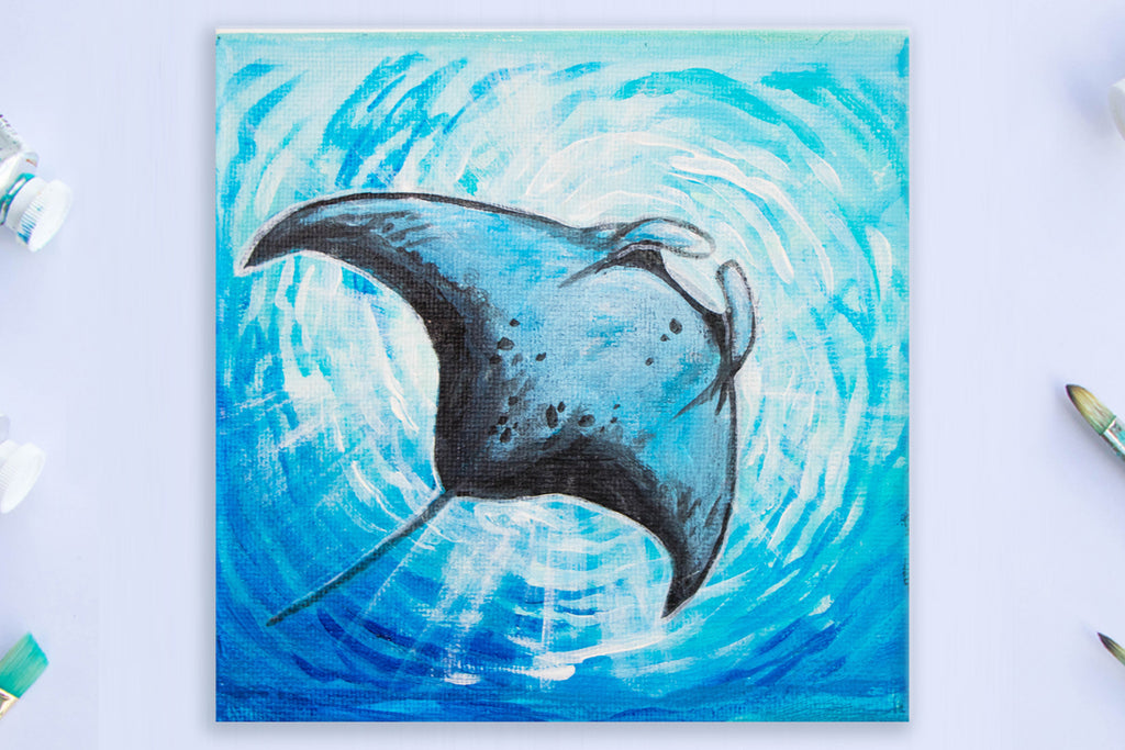 Whimsical Manta Ray