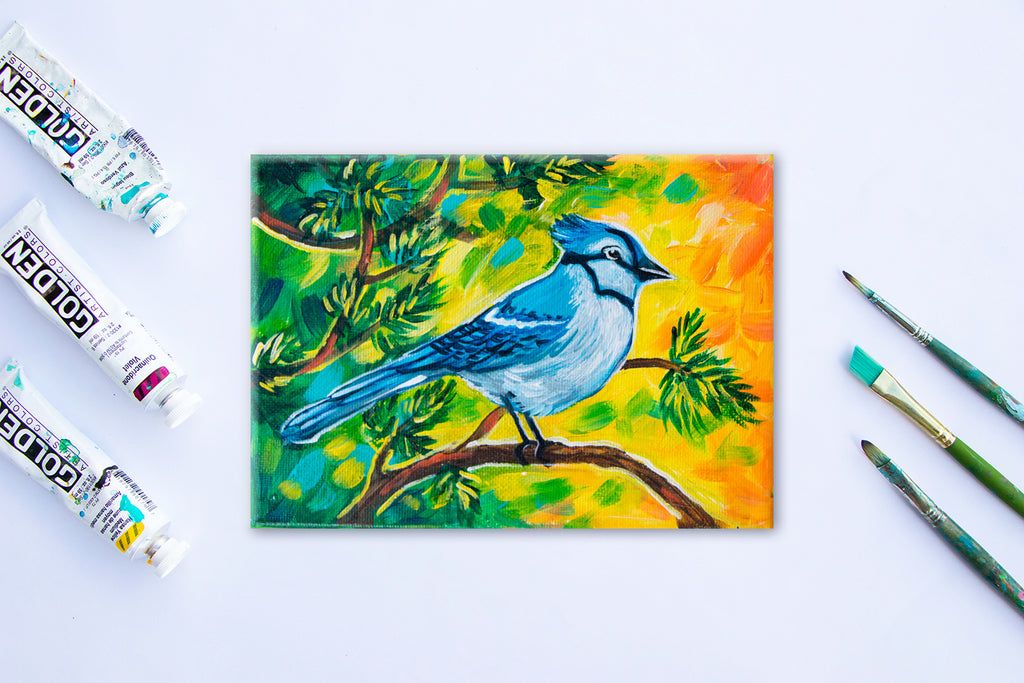 Mini Blue Jay #1