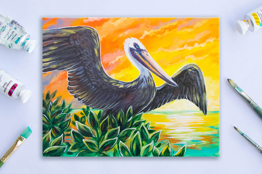Pelican in St Pete