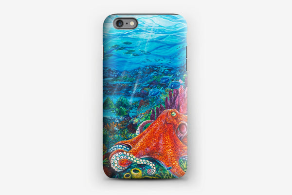 iPhone Tough Case - Octopus