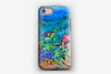 iPhone Tough Case - Coral Meadow Angelfish