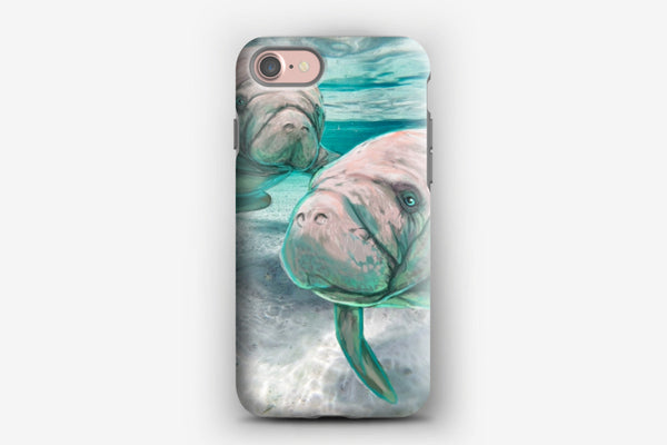 iPhone Tough Case - Manatees