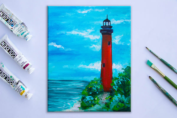 Jupiter Lighthouse Study