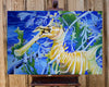 Sea Dragon - Acrylic on Canvas