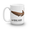 Nurse Shark Scientific Illustration Mug