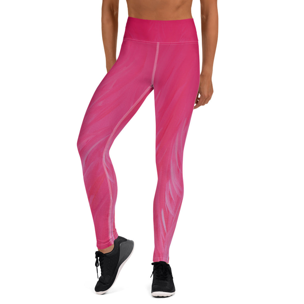 Flamingo Yoga Leggings