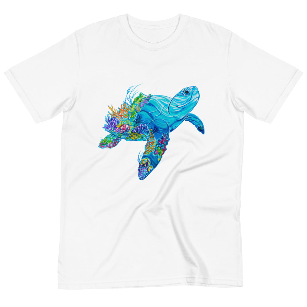 Turtley Awesome, 100% Organic Cotton Tee - Unisex