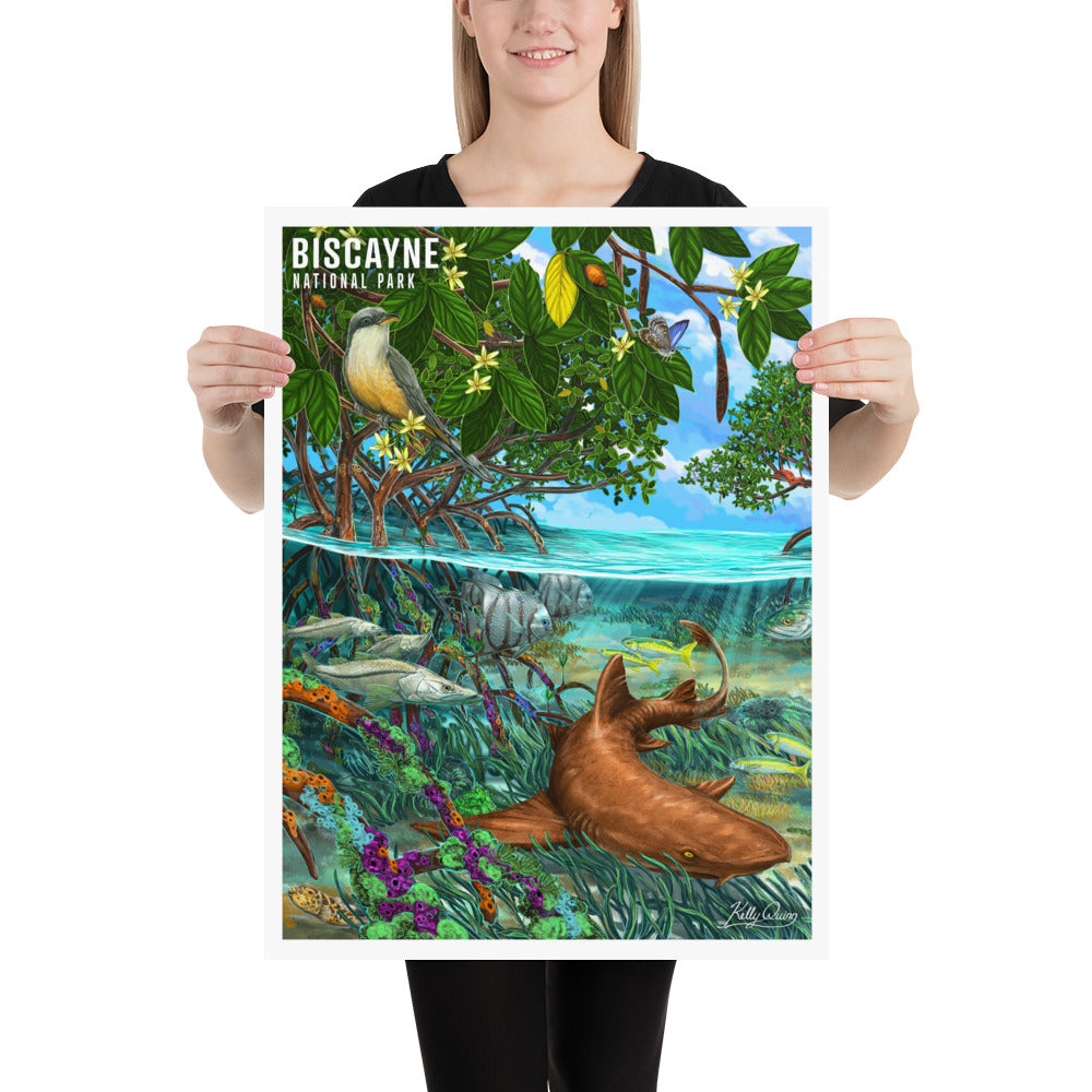 Nurse Shark Photo paper poster