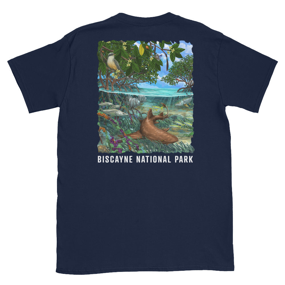 Biscayne Bay Nurse Shark - Unisex Tee