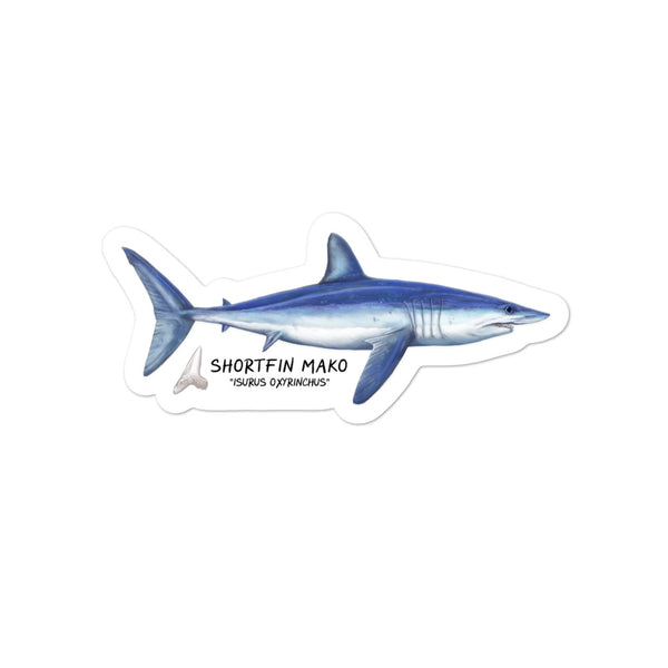 Shortfin Mako Sticker