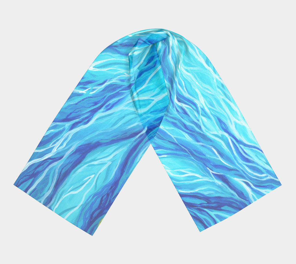 Ocean Current Scarf