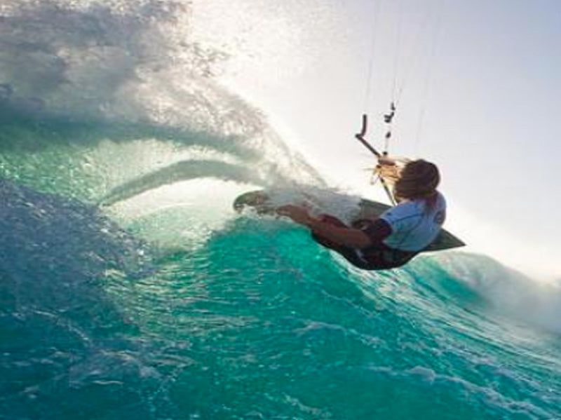Kitesurfer Gunnar Wagner; Powered by ChocolaTree!