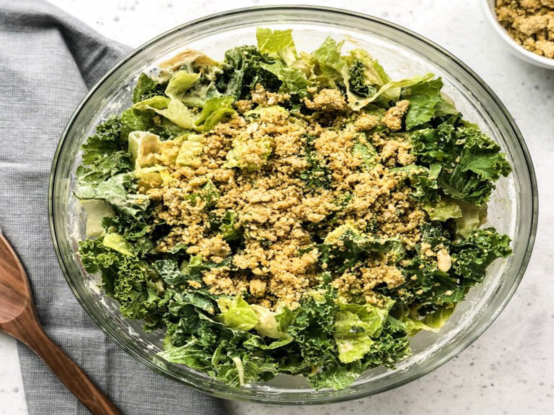 Vegan Caesar Romaine: Satisfying