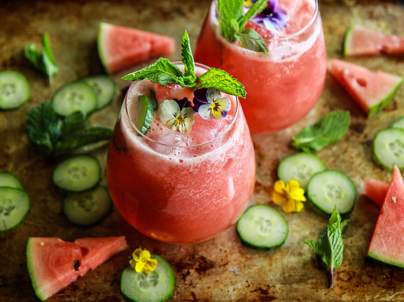 Watermelon Cucumber Drink