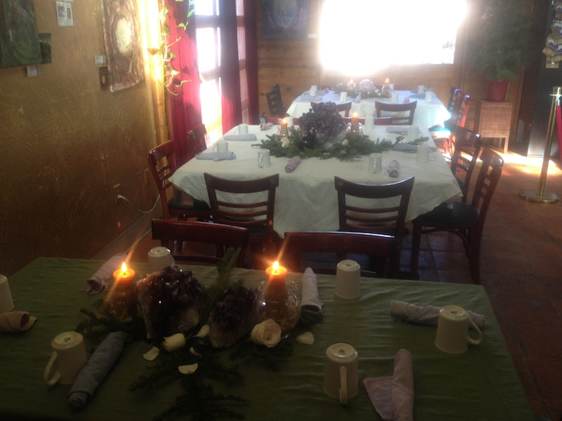 Restaurant ready for guests