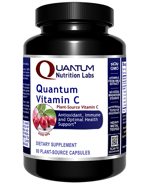 Quantum Nutrition Labs, Vitamin C, 60caps