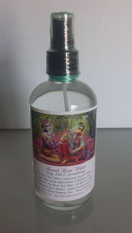 Organic Sacred Rose Water