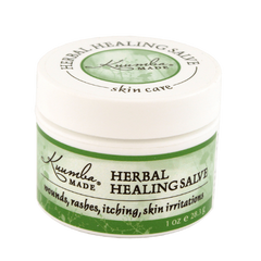 Kuumba made Herbal Healing Salve in 1oz jar