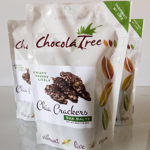 Chocolatree Chia Crackers