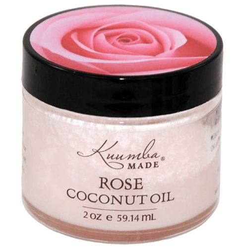 Kuumba Made, Rose Coconut Oil, 2 oz