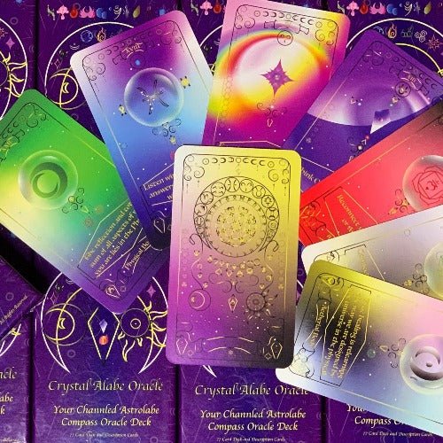 Crystal Alabe Oracle Deck