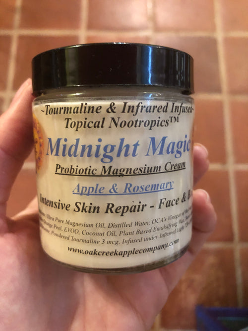"""Midnight Magic"" Probiotic Magnesium Cream Skin Repair"