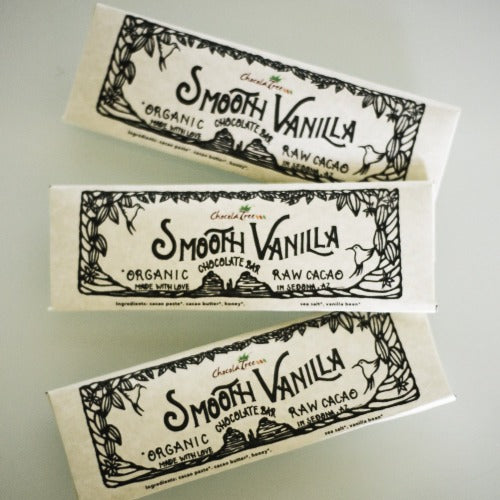 ChocolaTree Smooth Vanilla Chocolate Bar