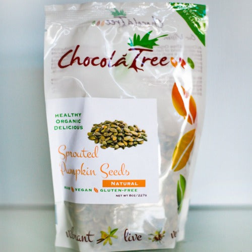 Chocolatree Sprouted Pumpkin Seeds