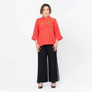 Embroidered Qi Pao