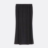Textured Fit And Flare Skirt