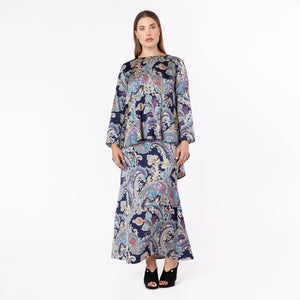 MS. READ | Printed Top | Raya Collection 2019, Baju Kurung, Fesyen Raya 2019, Baju Raya