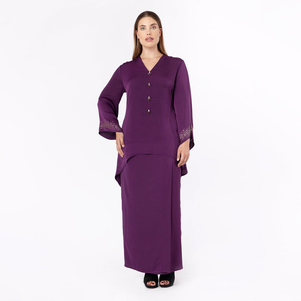 MS. READ | Back Pleated Skirt, Raya Collection, Baju Kurung, Fesyen Raya, Baju Raya