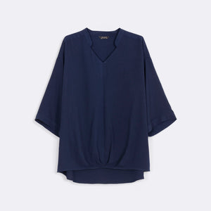 Pleated Plain Top