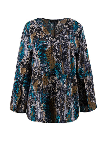 BELL SLEEVES BOHO TOP (Size 12 Only)