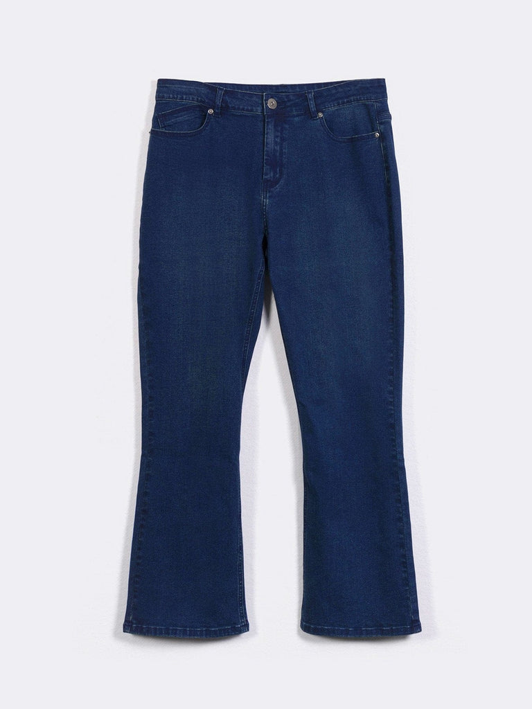 SEMI-BOOT CUT JEANS