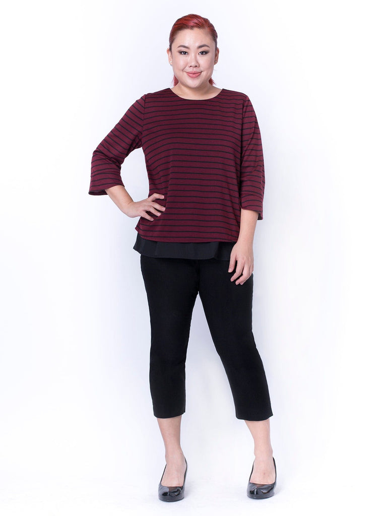 DUO FABRIC TOP