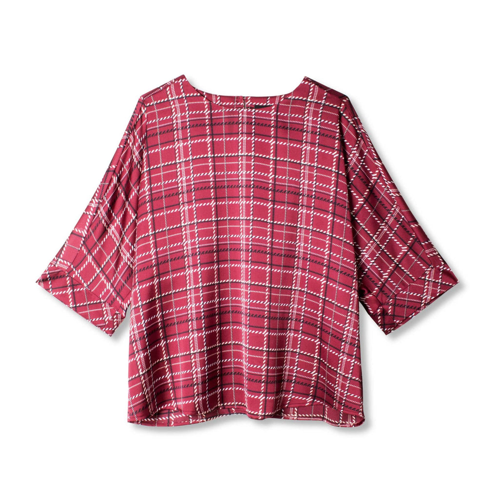 Round Neck Dolman Top