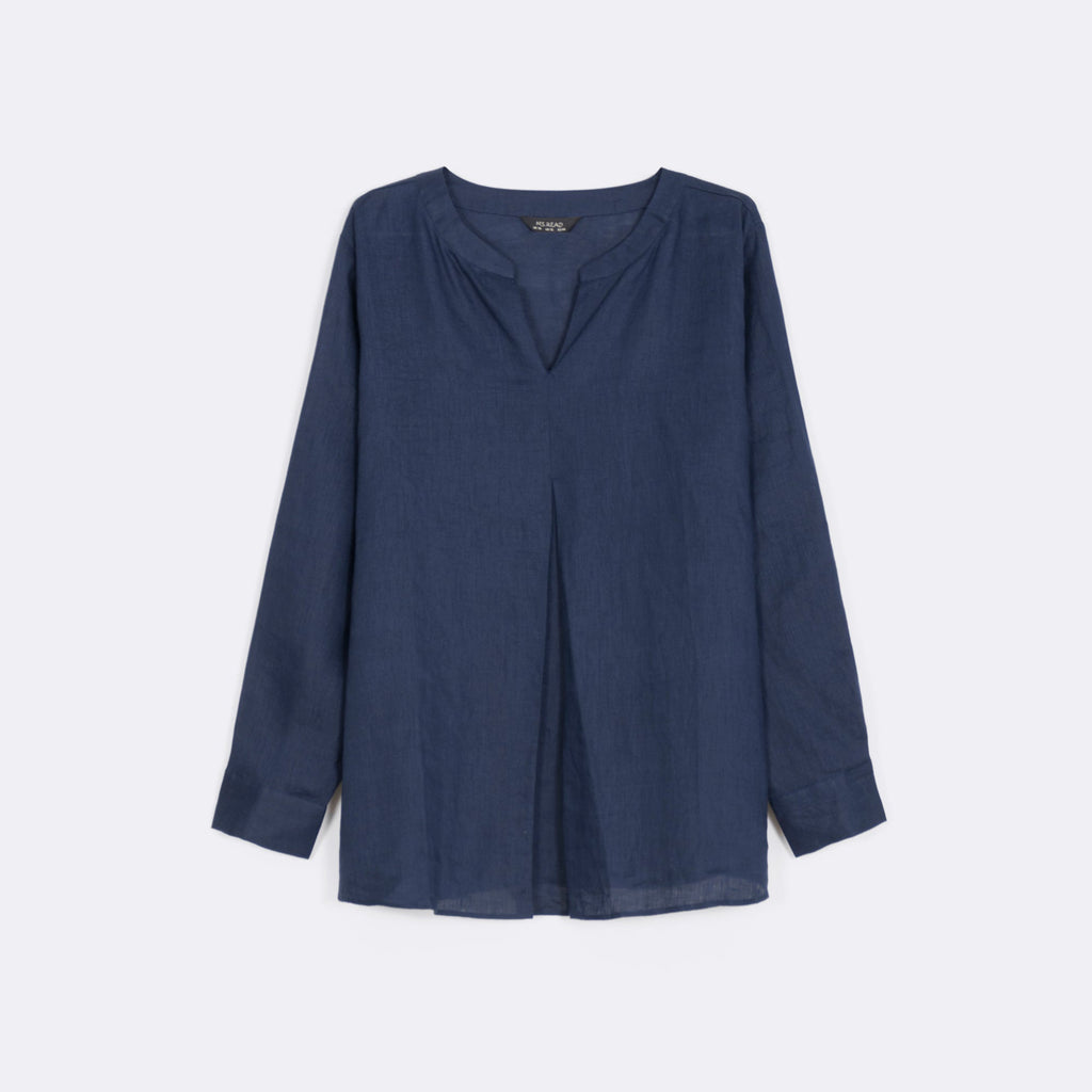 Front Pleated Top