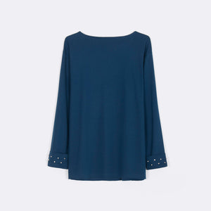 Embellished Sleeve Top