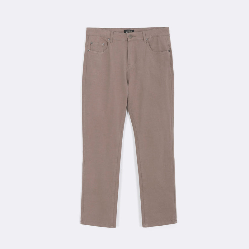 Straight Cut Twill Pants